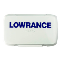 "Lowrance Hook2 4"" Inch Series - Sun / Dust Cover - Hook 2 4 4x models image"