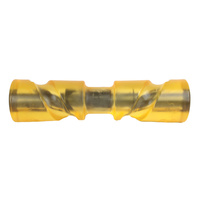 "12"" - Self Centering - Boat Keel Trailer Roller Polyurethane Yellow 12 Inch image"