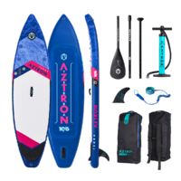"AZTRON TERRA 10'6""ft / 320cm INFLATABLE TOURING STAND UP PADDLE BOARD (SUP) Riders > 95kg image"