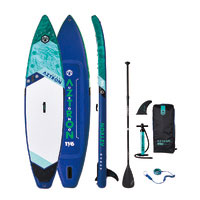 "Aztron URONO 11'6"" Inflatable SUP Stand Up Paddleboard Package image"