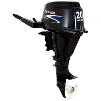 20HP PARSUN OUTBOARD MOTOR Short Shaft, 4-Stroke, Manual Start, WATER COOLED 2YR WARRANTY F20ABMS image
