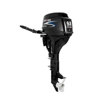 9.8HP PARSUN OUTBOARD MOTOR Long Shaft, 4-Stroke, Manual Start, WATER COOLED 2YR WARRANTY F9.8BML image