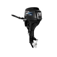 9.8HP PARSUN OUTBOARD MOTOR Short Shaft, 4-Stroke, Manual Start, WATER COOLED 2YR WARRANTY F9.8BMS image