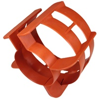 Outboard Propeller Guard - 25HP to 35HP - Boat Marine Prop Safety Orange image