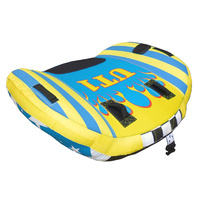 "Ski Tube - UT1 - 1 Rider / Person Wing Style Water Ski Biscuit Dia 58"" / 147cm image"