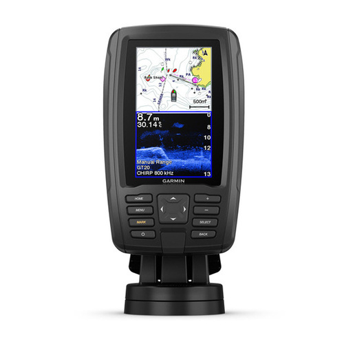 Garmin Echomap Plus 45cv Fishfinder / Chartplotter Combo With Maps & Chirp Transducer 010-01887-20