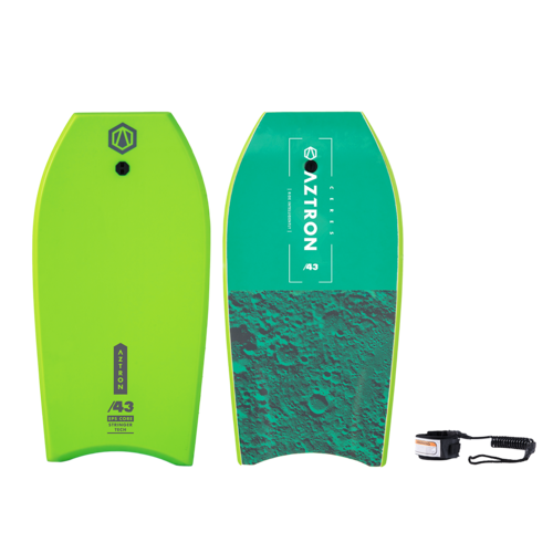 Aztron CERES 43' BODYBOARD Boogie Board Package + Leash