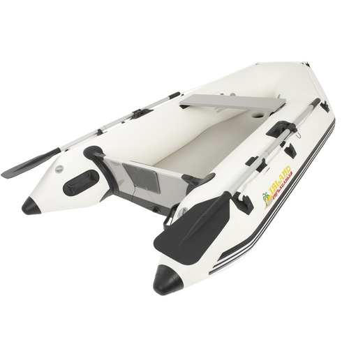"2.6m / 8.6FT ISLAND INFLATABLE BOAT - AIR-FLOOR - Australian Designed, Quality Build, Thermo Welded Seams. 3 Year ""GENUINE"" Warranty IA260"